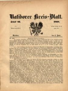 Ratiborer Kreis-Blatt, 1868, Stück 23