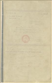 "Manuskrypt ""Botanika ogólna"" Józefa Tomkiewicza - Cieszyn, 1926 r."