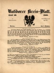 Ratiborer Kreis-Blatt, 1868, Stück 40