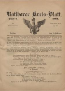 Ratiborer Kreis-Blatt, 1869, Stück 7