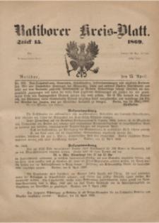 Ratiborer Kreis-Blatt, 1869, Stück 15