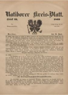 Ratiborer Kreis-Blatt, 1869, Stück 25
