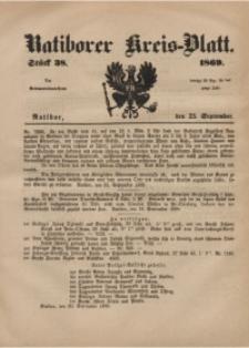 Ratiborer Kreis-Blatt, 1869, Stück 38