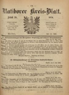 Ratiborer Kreis-Blatt, 1874, Stück 29