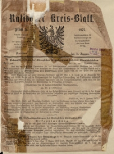 Ratiborer Kreis-Blatt, 1877, Stück 2