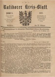 Ratiborer Kreis-Blatt, 1877, Stück 8