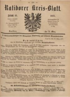 Ratiborer Kreis-Blatt, 1877, Stück 12