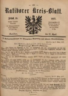 Ratiborer Kreis-Blatt, 1877, Stück 15