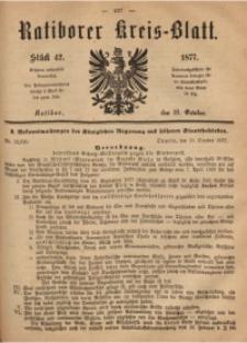 Ratiborer Kreis-Blatt, 1877, Stück 42