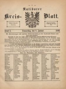 Ratiborer Kreis-Blatt, 1880, Stück 2