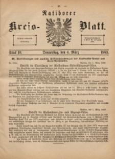 Ratiborer Kreis-Blatt, 1880, Stück 10