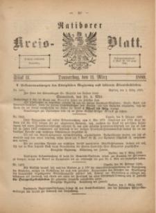 Ratiborer Kreis-Blatt, 1880, Stück 11