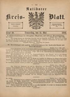 Ratiborer Kreis-Blatt, 1880, Stück 20