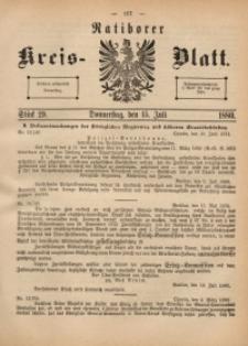 Ratiborer Kreis-Blatt, 1880, Stück 29