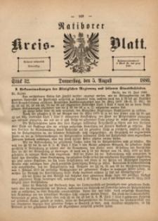 Ratiborer Kreis-Blatt, 1880, Stück 32