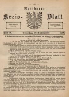 Ratiborer Kreis-Blatt, 1880, Stück 36