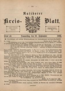Ratiborer Kreis-Blatt, 1880, Stück 40