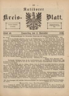 Ratiborer Kreis-Blatt, 1880, Stück 46