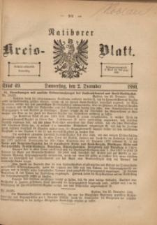 Ratiborer Kreis-Blatt, 1880, Stück 49