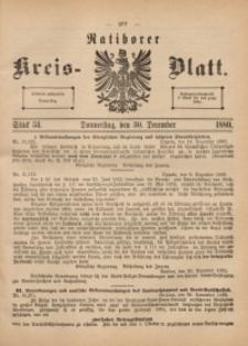 Ratiborer Kreis-Blatt, 1880, Stück 53