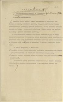 Rozporządzenie Międzynarodowej Komisji w Cieszynie z dnia 16.03.1920 r. - wprowadzenie opłaty granicznej na węgiel przywożony na teren plebiscytowy