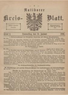 Ratiborer Kreis-Blatt, 1881, Stück 2