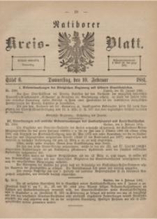 Ratiborer Kreis-Blatt, 1881, Stück 6