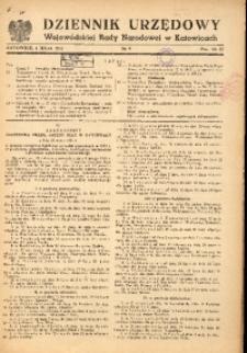 Dziennik Urzędowy Wojewódzkiej Rady Narodowej w Katowicach, 1951, nr9