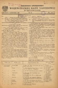 Dziennik Urzędowy Wojewódzkiej Rady Narodowej w Katowicach, 1951, nr18