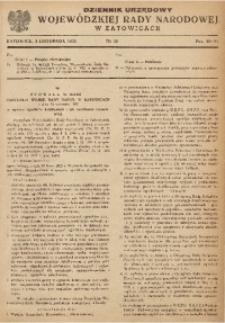 Dziennik Urzędowy Wojewódzkiej Rady Narodowej w Katowicach, 1952, nr11