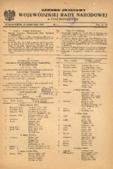 Dziennik Urzędowy Wojewódzkiej Rady Narodowej w Stalinogrodzie, 1953, nr4
