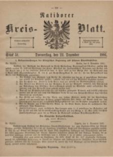 Ratiborer Kreis-Blatt, 1881, Stück 51