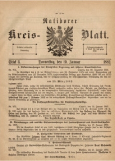 Ratiborer Kreis-Blatt, 1882, Stück 3