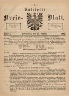 Ratiborer Kreis-Blatt, 1882, Stück 4