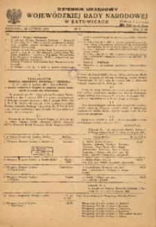 Dziennik Urzędowy Wojewódzkiej Rady Narodowej w Katowicach, 1953, nr2