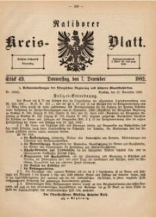 Ratiborer Kreis-Blatt, 1882, Stück 49