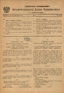 Dziennik Urzędowy Wojewódzkiej Rady Narodowej w Katowicach, 1957, nr5