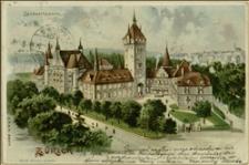 Kartka pocztowa z widokiem Muzeum Krajowego w Zurychu z pozdrowieniami J. Brody dla Tadeusza Regera w Morawskiej Ostrawie - Zürich, 24.10.1902 r.
