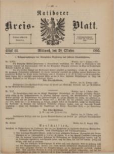 Ratiborer Kreis-Blatt, 1885, Stück 44
