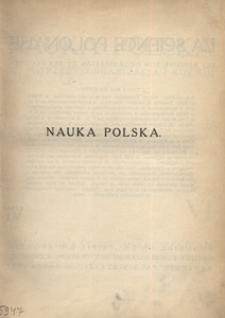 Nauka Polska, 1927, R. 6