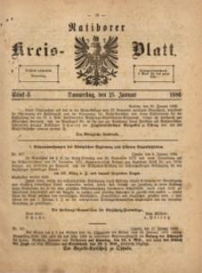 Ratiborer Kreis-Blatt, 1886, Stück 3