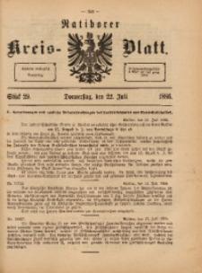 Ratiborer Kreis-Blatt, 1886, Stück 29