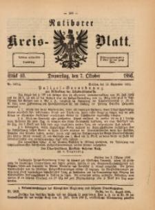 Ratiborer Kreis-Blatt, 1886, Stück 40