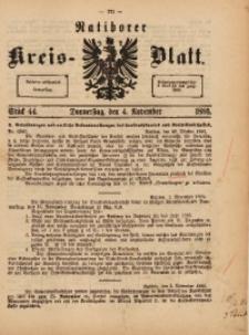 Ratiborer Kreis-Blatt, 1886, Stück 44