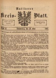 Ratiborer Kreis-Blatt, 1887, Stück 21