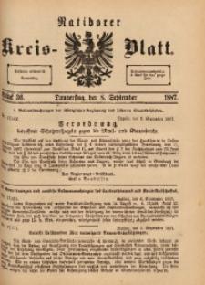 Ratiborer Kreis-Blatt, 1887, Stück 36