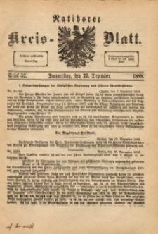 Ratiborer Kreis-Blatt, 1888, Stück 52