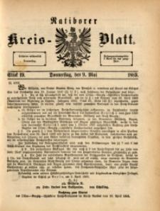 Ratiborer Kreis-Blatt, 1889, Stück 19