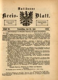 Ratiborer Kreis-Blatt, 1889, Stück 30