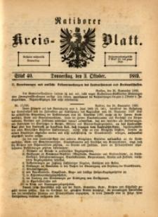 Ratiborer Kreis-Blatt, 1889, Stück 40